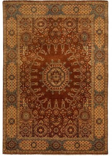 Alfombra persa de exquisita calidad completamente anudada for Alfombras persas redondas
