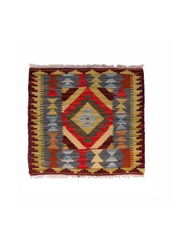 Alfombra kilim afgano c40 50x50cm