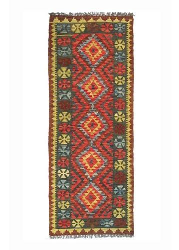 Kilim afgano de pasillo 197x76cm
