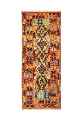 Kilim afgano de lana 195x81cm
