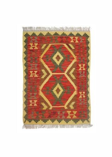 Kilim afgano de lana 93x67cm