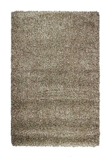 Alfombra de pelo largo OULU gris-beige 60x110cm