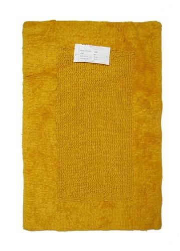 Alfombra de baño amarillo 45x70cm