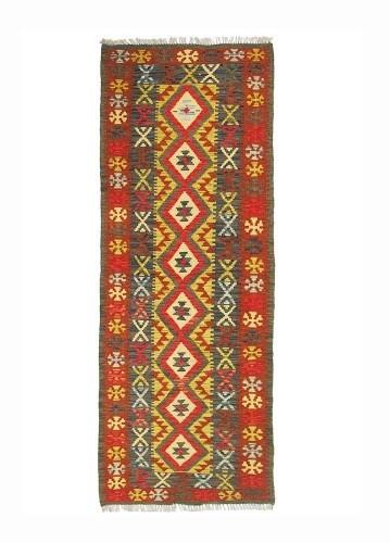 Pasillera kilim afgano 203x70cm lana