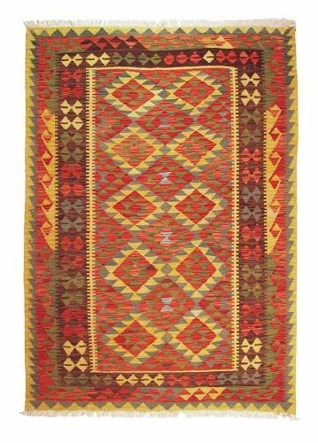 Kilim afgano artesanal 194x54cm barato