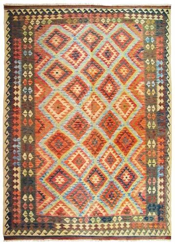 Kilim afgano grande barato 293x192cm