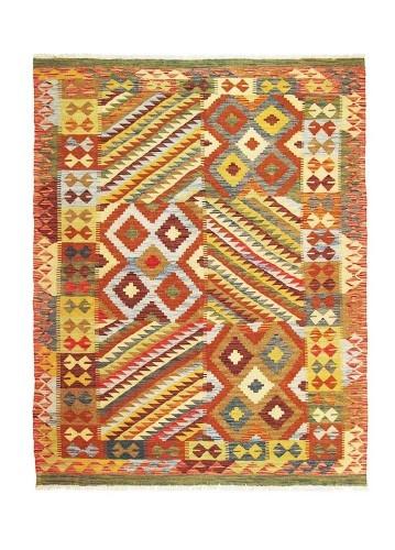 Kilim afgano de lana 194x152cm